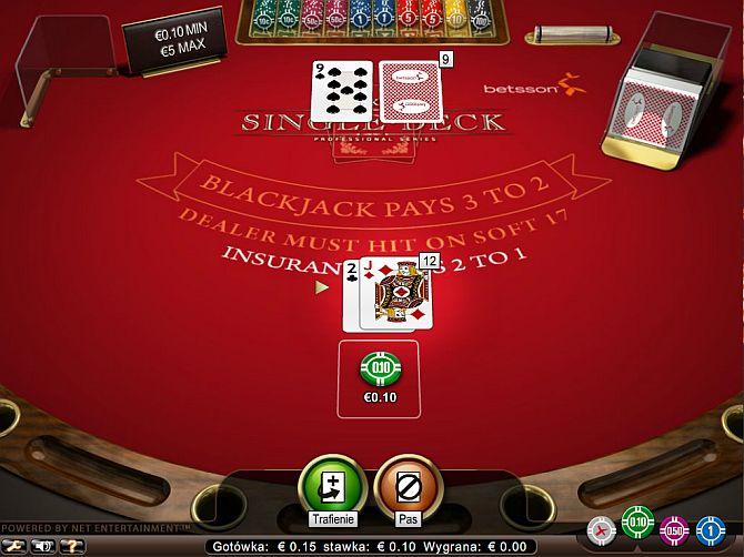 blackjack24PL_rozdanie w blackjacka_zasady blackjacka