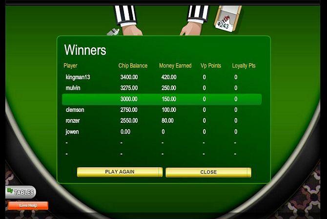 blackjack24PL_turniej w blackjacka wyniki